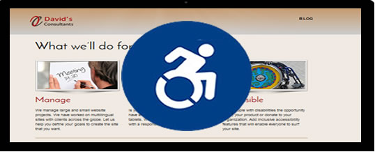 What is an accessible website?